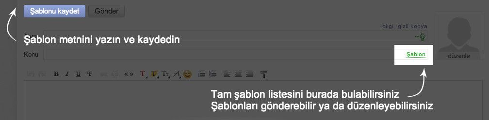 Yandex.Maile Şablon Kaydedebilme Özelliği Geldi