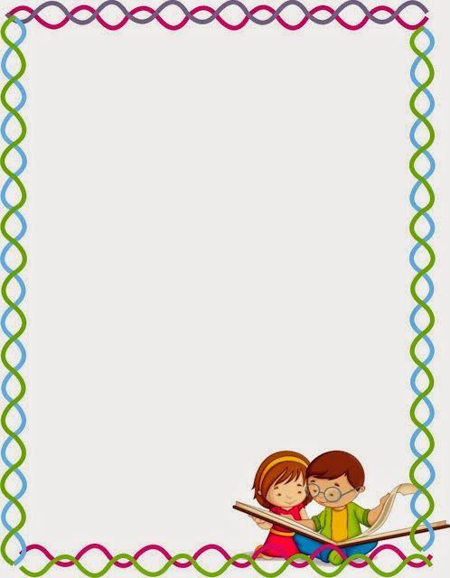 Book Cover Portadas Words : Borde niños con libro dy and crafts pinterest marcos