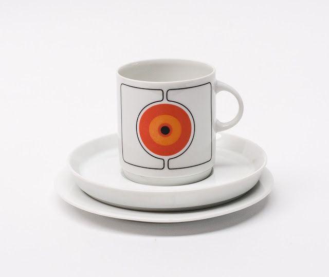 "Retro Pottery Net: Thomas Germany, ""Eclipse"""