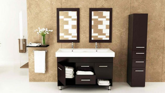 Designer Bathroom Vanities Ideas ~ Modern and contemporary tall cabinets ideas cupboard