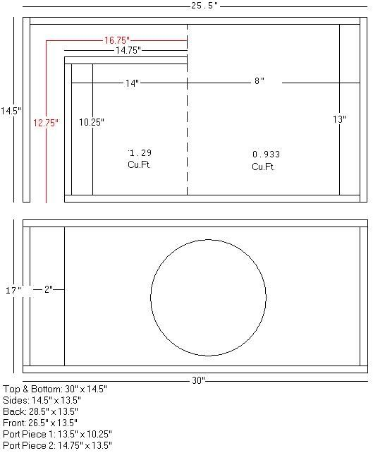 Image result for kicker l7 12 box dimensions in 2019