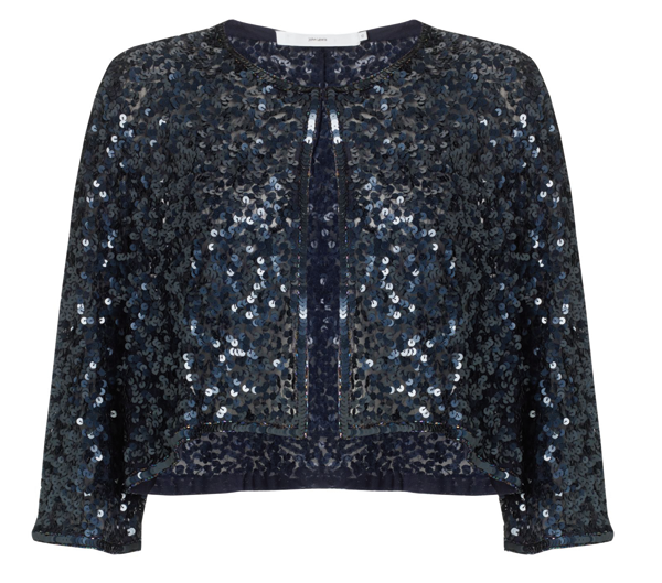Adding a bit of sparkle to your party dress.