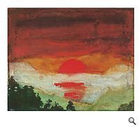 Emil Nolde, sunrise on ArtStack #emil-nolde #art