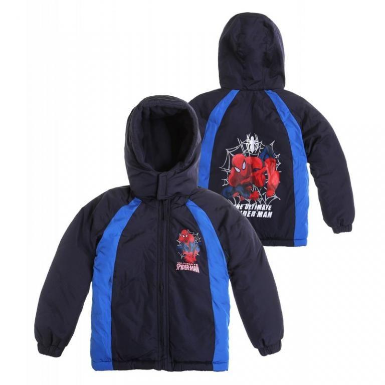 Kurtka Spiderman Kurtka Pikowana 104 110zima Hoodies Sweaters Fashion