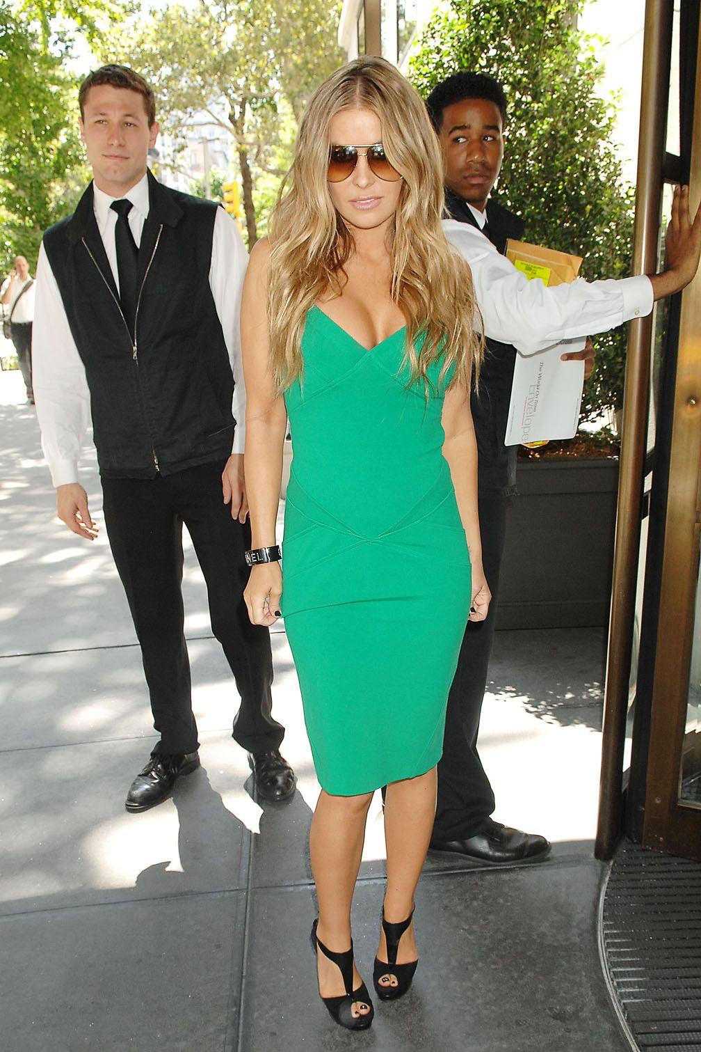 green dress carmen electra | Carmen Electra | Pinterest | Carmen ...
