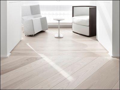 White Washed Maple Floors Love House Decor Pinterest