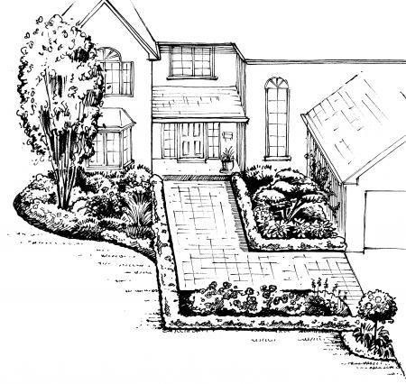Front Yard Landscape Design A Sample Shopping List 3 Front Yard Landscaping Design Front Yard Garden Design Yard Landscaping