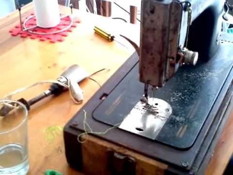 Maquina de coser! curso in home - YouTube