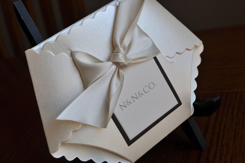 how to make diaper invitations