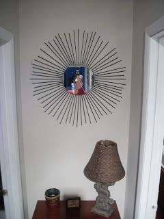The Arrowood Zoo: DIY - Starburst Mirror
