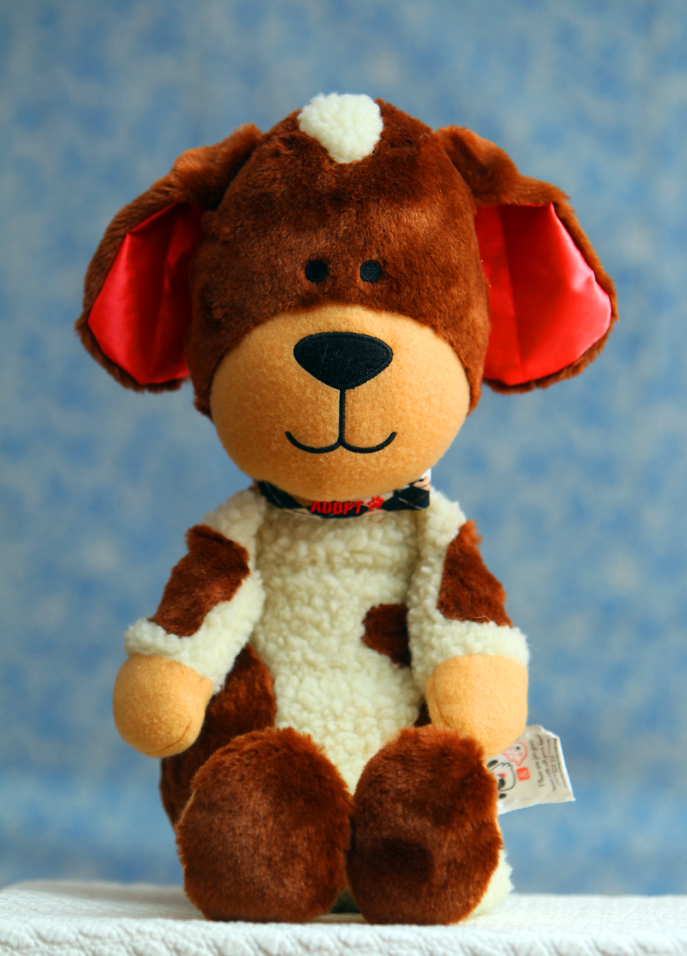 Plush Toy Rescue Dog Charliedog S Charlie Charlie Was Adopted