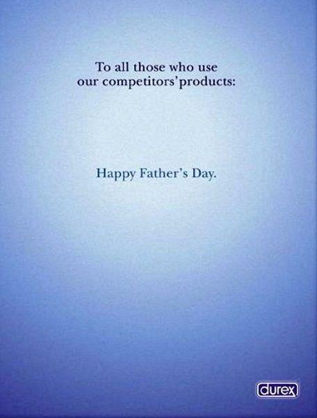 Copy In An Advertisement For Durex Condoms By Jason Kempen Ha