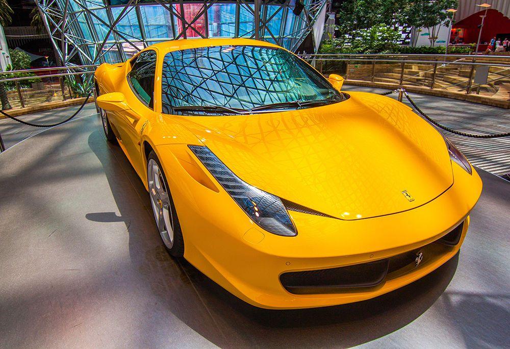 Exotic Ferrari 458 Italia - Car Poster - Car Print - Sports Car ...