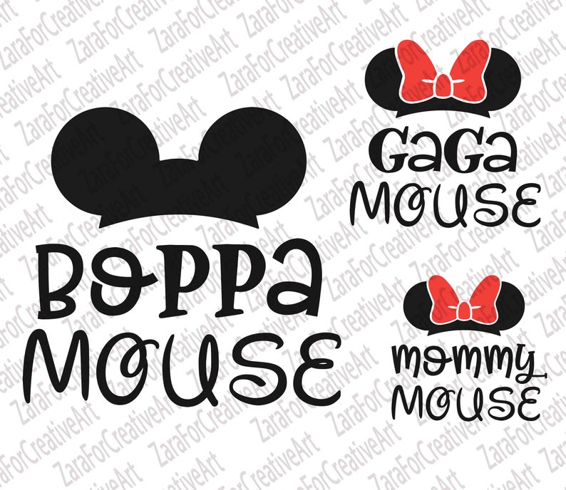 Disney Family Bundle Svg Mama Mouse Family Matching Silhouette Cameo Cricut Instant Download Mommy Daddy Grandma Sister Mirror Png Clean Cut Vozeli Com