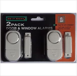 2 PACK DOOR AND WINDOW ALARMS NO WIRING REQUIRED £3.95+FREE POSTAGE 5050384163506 on eBid United Kingdom