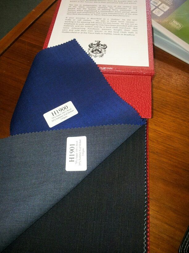 Huddersfield Cloth Suiting Fabric