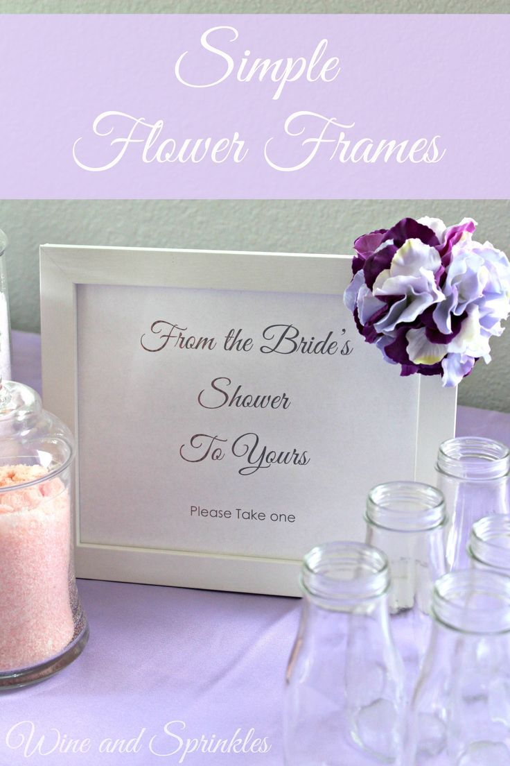 Pomander Flower Frames   Flower frame, Flower and Party printables