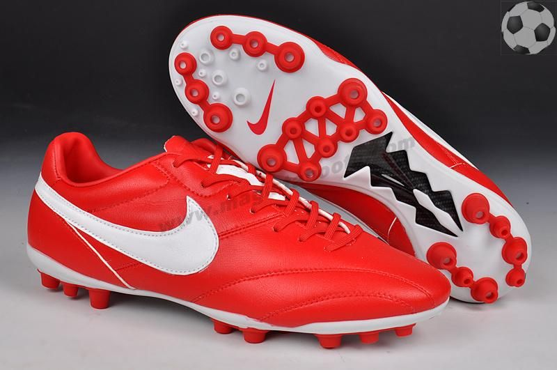 Nike The Premier AG Boots Red/White