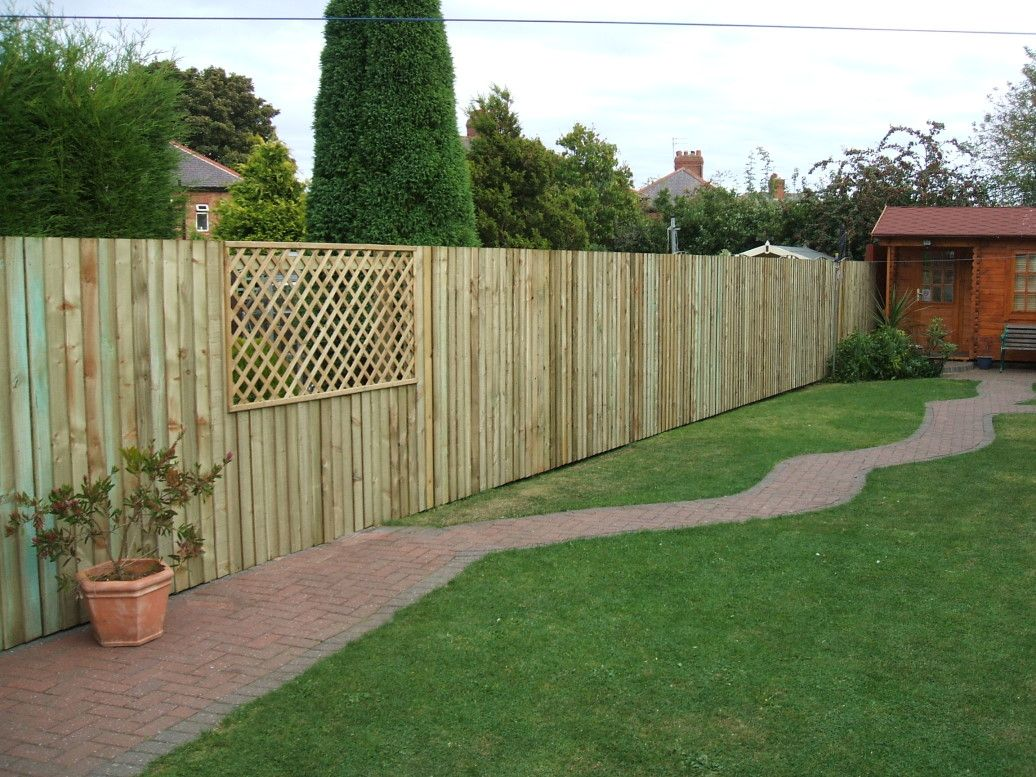17 Best 1000 images about Garden Fencing Ideas on Pinterest Sleeper