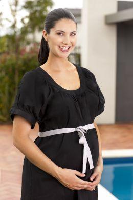 Designer Mama - Birthing Gown - Classic Black | Birth - Birthing
