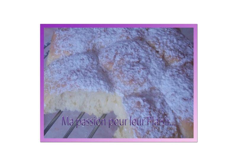 brioche au mascarpone (sans beurre)