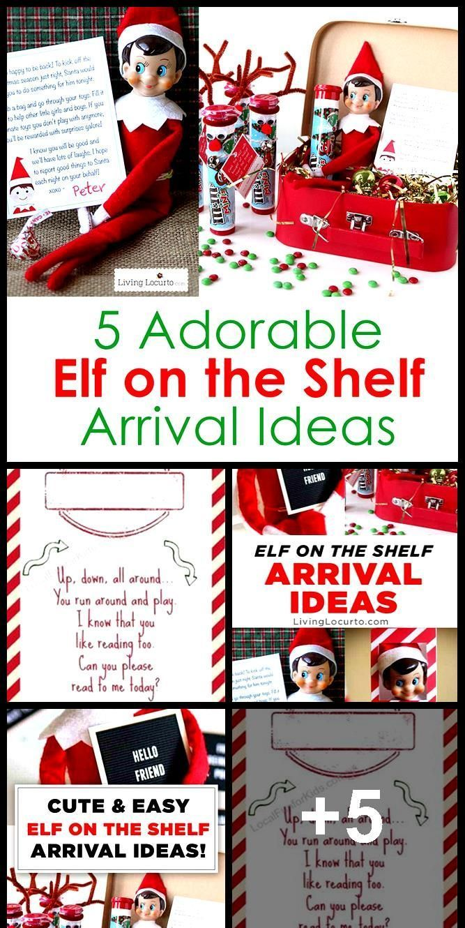 New Free Elf on the shelf arrival letter  Google Search  Elf On The Self Strategies Elf on the shelf arrival letter  Google Search  elf on the shelf Your young ones love...