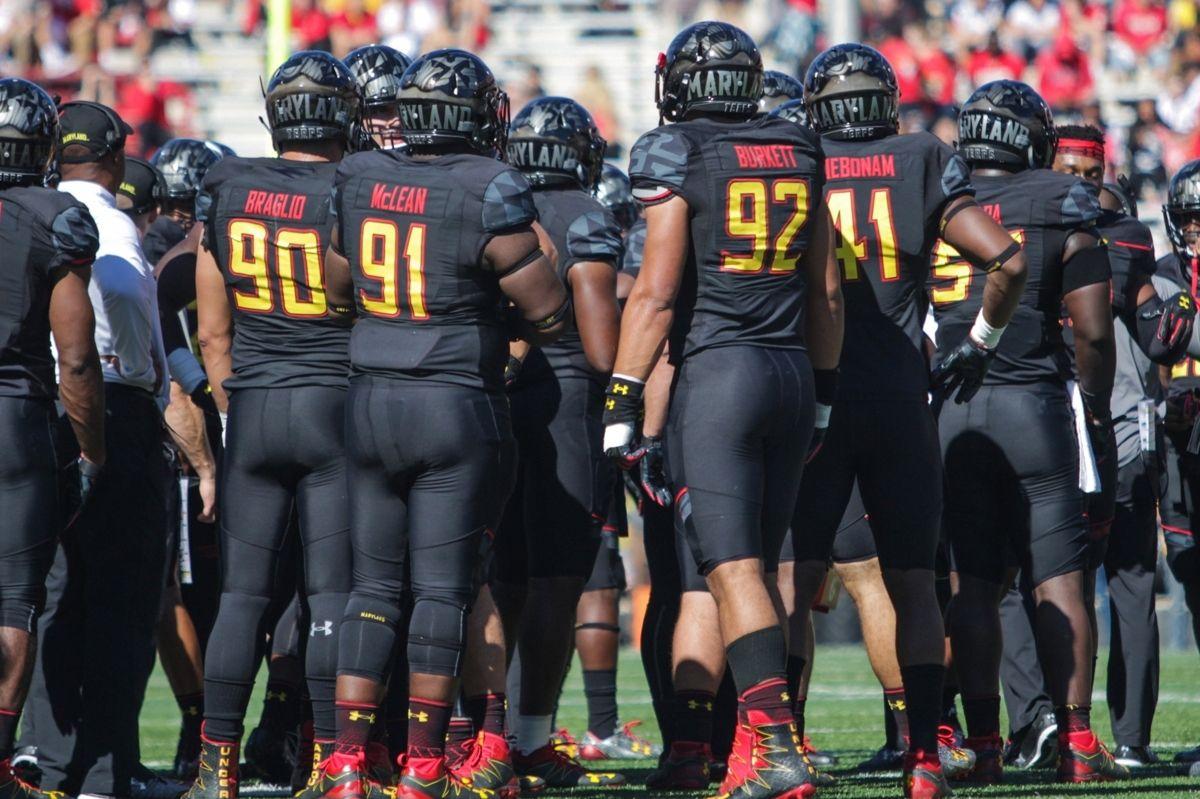 Maryland S Black Football Uniforms Are Cursed We Have Proof Wearing All Black Football Uniforms Black