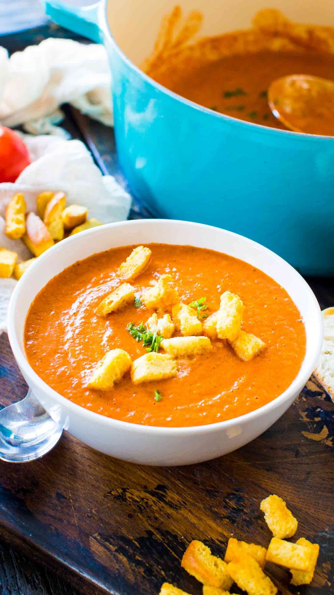 Panera Bread Creamy Tomato Soup Recipe Panera creamy