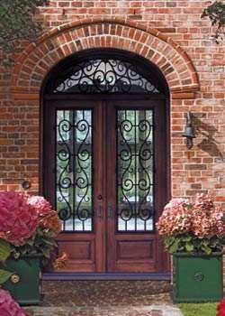 Custom Doors Leaded Glass Entry Doors Beveled French Glass Stained Glass  Custom Design