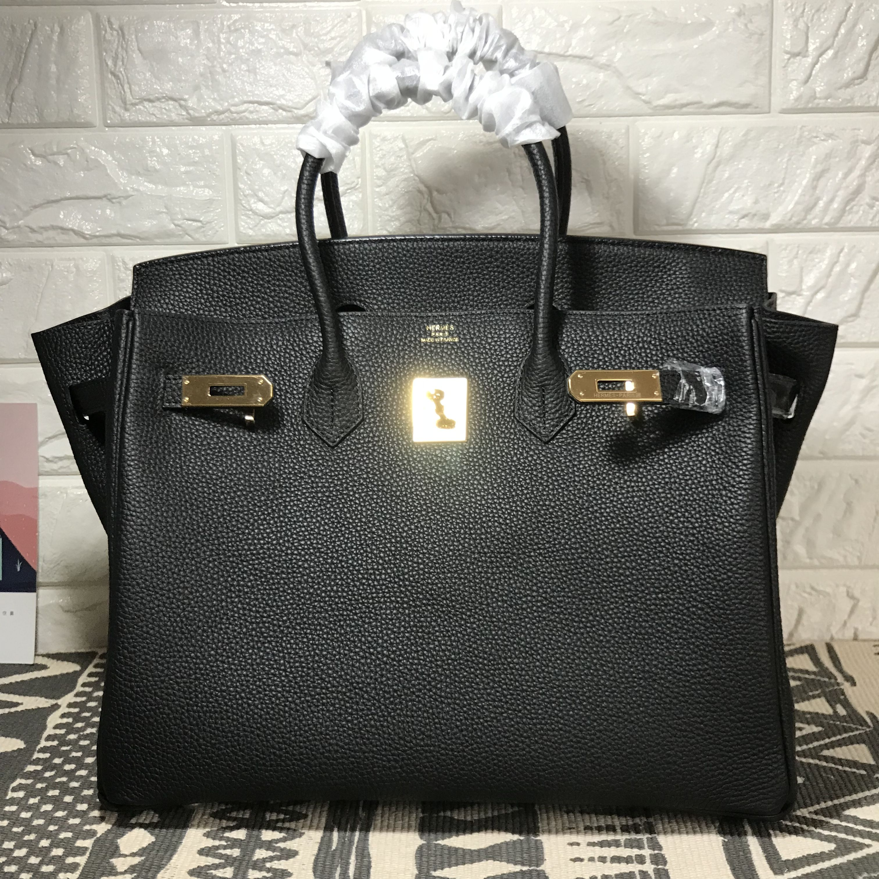 6868955fd64a ... free shipping hermes birkin togo leather black 35cm 2131d 86acc
