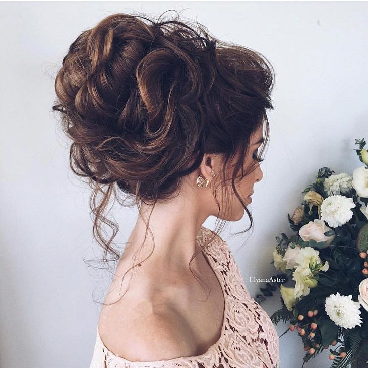messy wedding hairstyle #weddinghairstyle #hairstyles #messyupdo