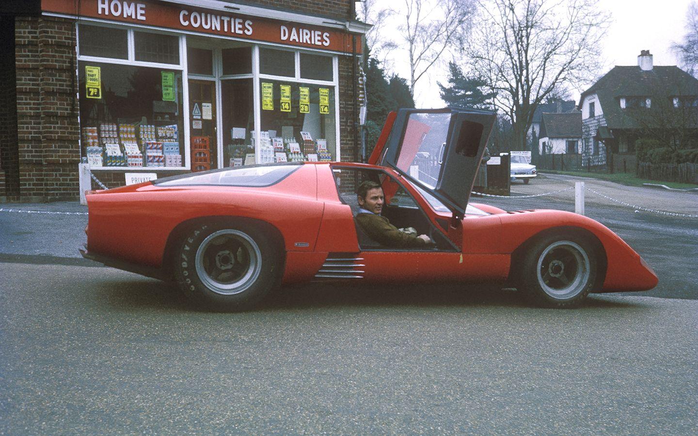 McLaren M6GT driven By Bruce McLaren