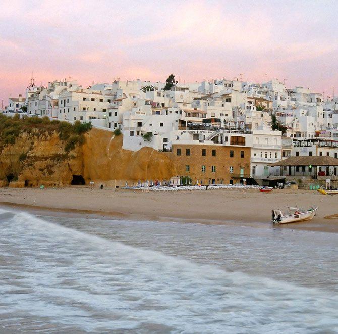 Algarve. Albufeira. Portugal