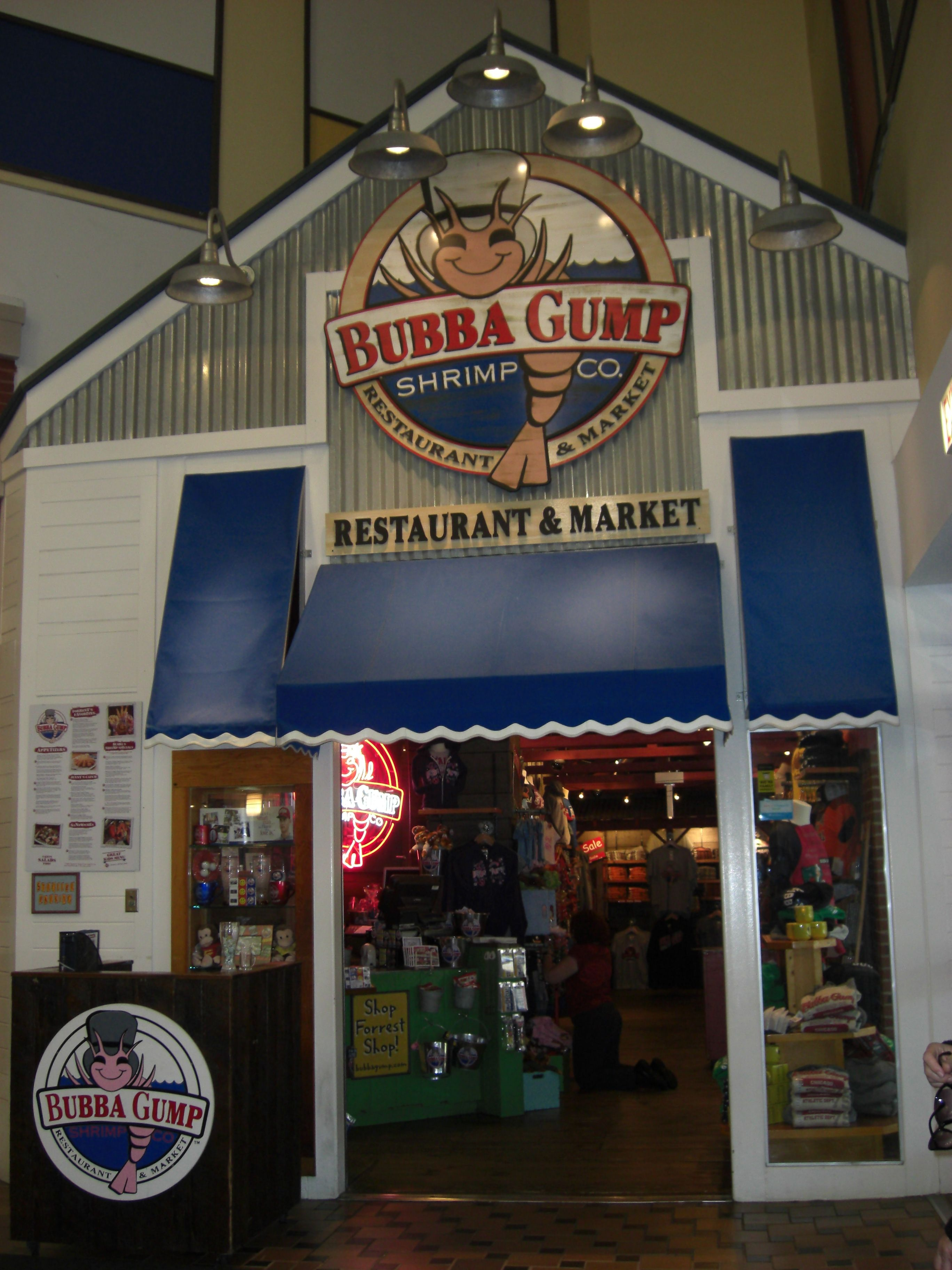 Chicago Navy Pier Bubba Gump My Things So Me