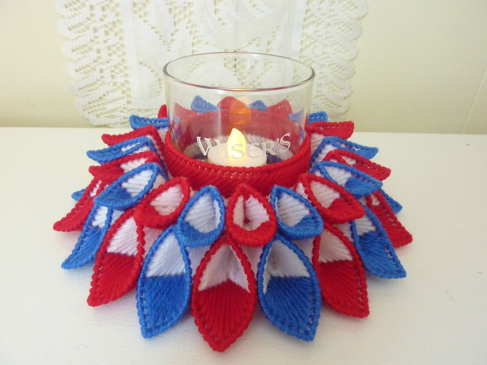 Handcrafted Quot Pedals Galore Candle Holder Quot American Style