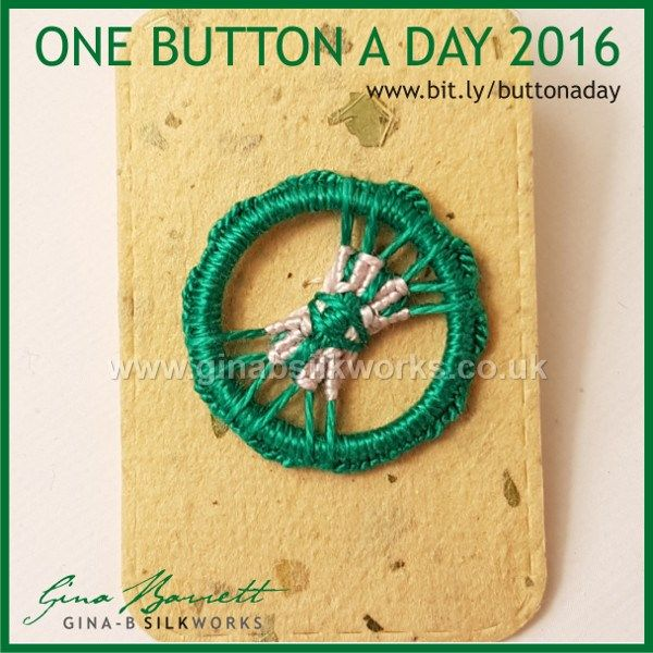 Day 296: Talisman #onebuttonaday by Gina Barrett