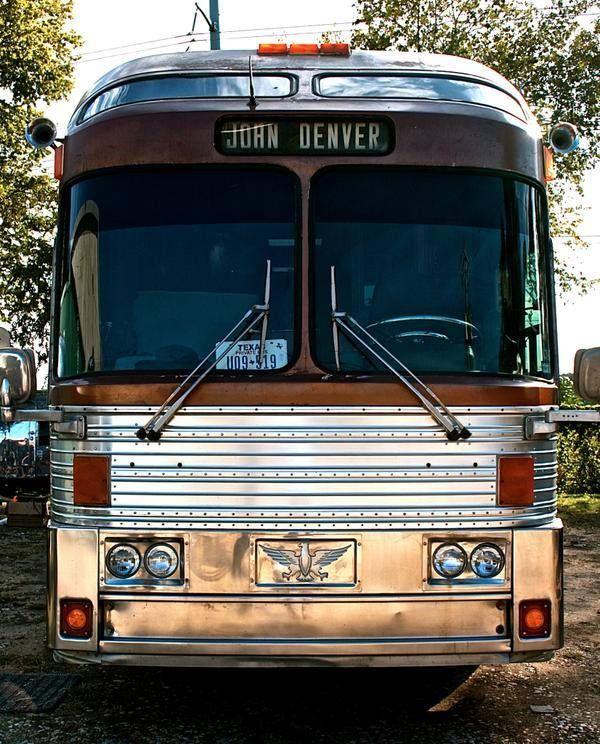 Denver Rv Show: John Denver's Tour Bus.