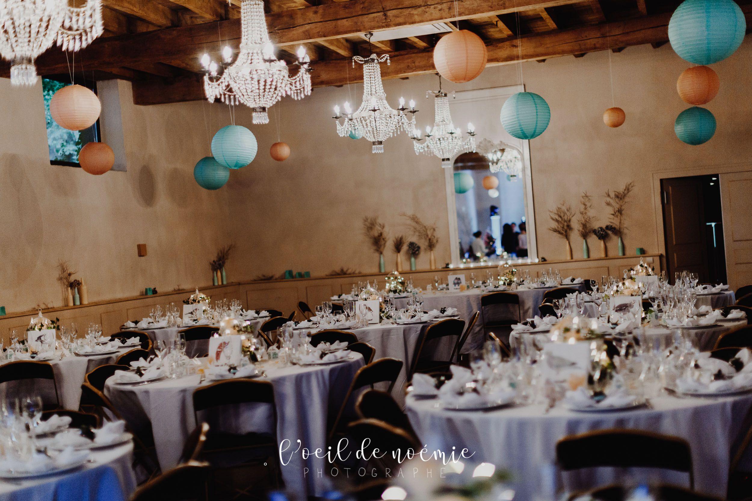 Tons Pastels Mariage Chateau Du Guerinet Idee De Decoration