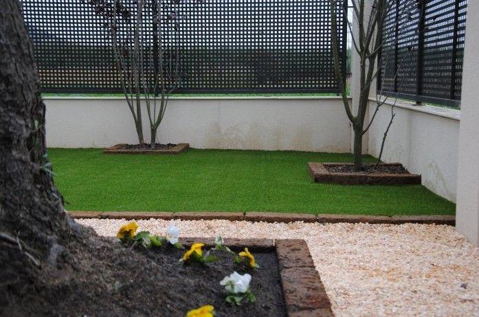 Decora de forma econ mica y sin apenas mantenimiento tu jard n o piscina con c sped artificial - Jardin sin mantenimiento ...