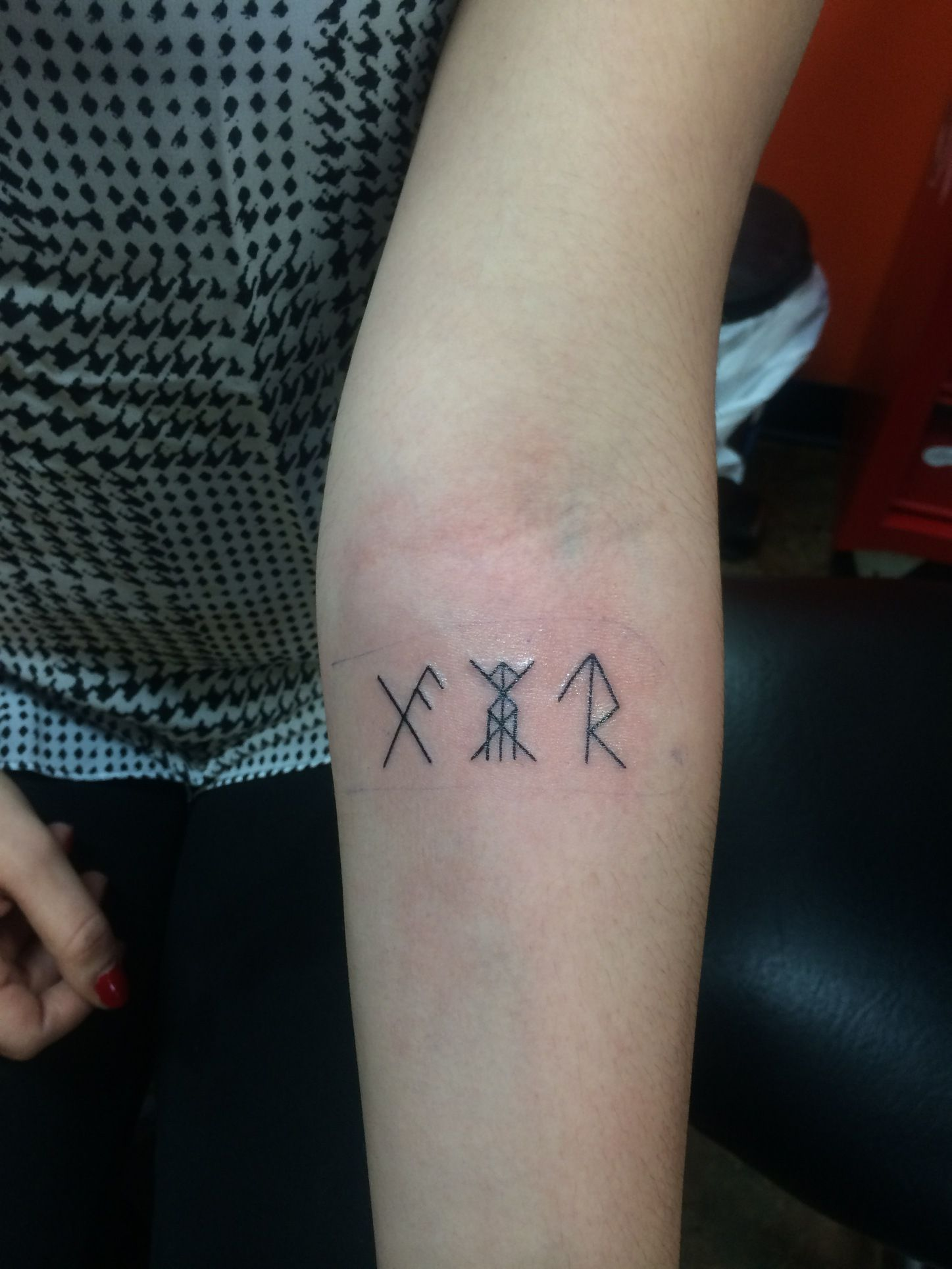 9d730b4c490ab Good luck, health&vitality, and success runes tattoo. | Tattoos ...
