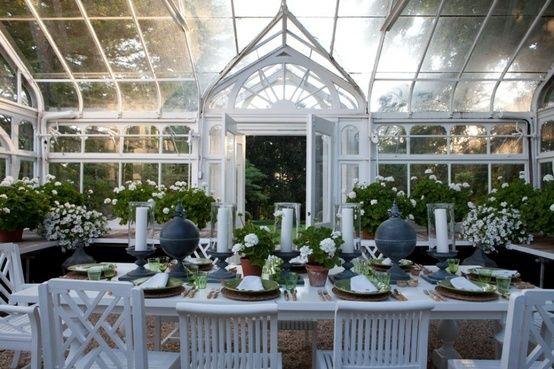 beautiful: greenhouse Romantiska Hem
