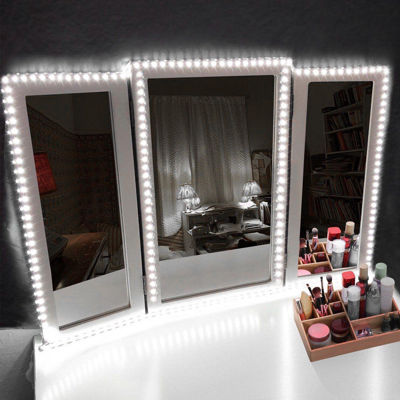 Led Vanity Mirror Lights Kit Mak Mirror With Lights Diy Vanity Mirror Vanity Mirror