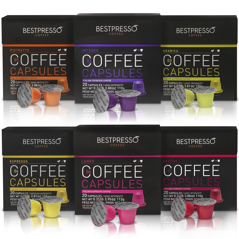 Bestpresso Coffee For Nespresso OriginalLine Machine 120