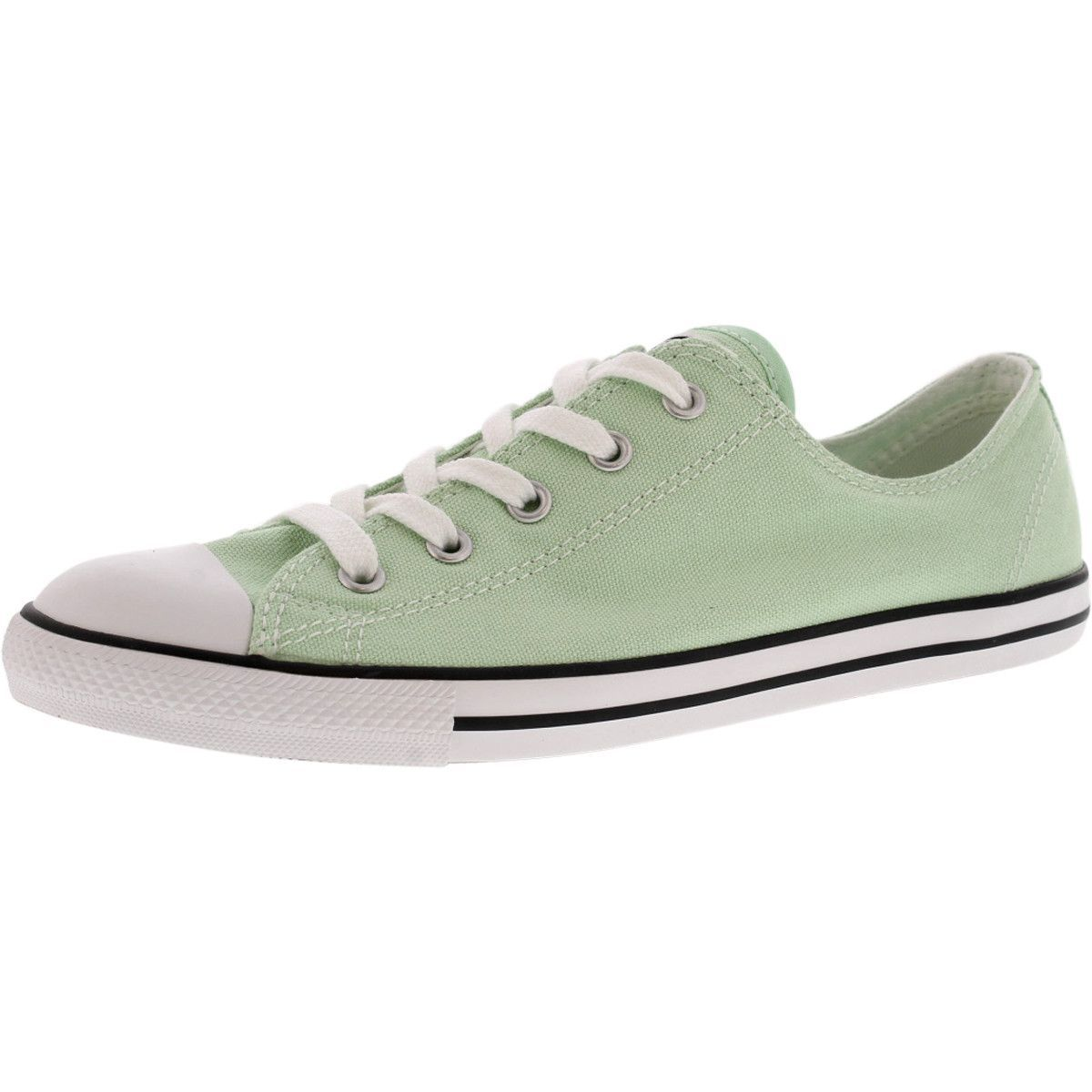 35f16a9d443578 Converse - Women s CT All Star Dainty Low Canvas Sneakers - Mint Julep
