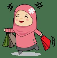 Stiker Wa Line Fb Chat Receh Cartoon Kartun Kekinian Meme Lucu Peranggambar Islami Hijab Mus Logo Online Shop Cute Love Cartoons Islamic Cartoon