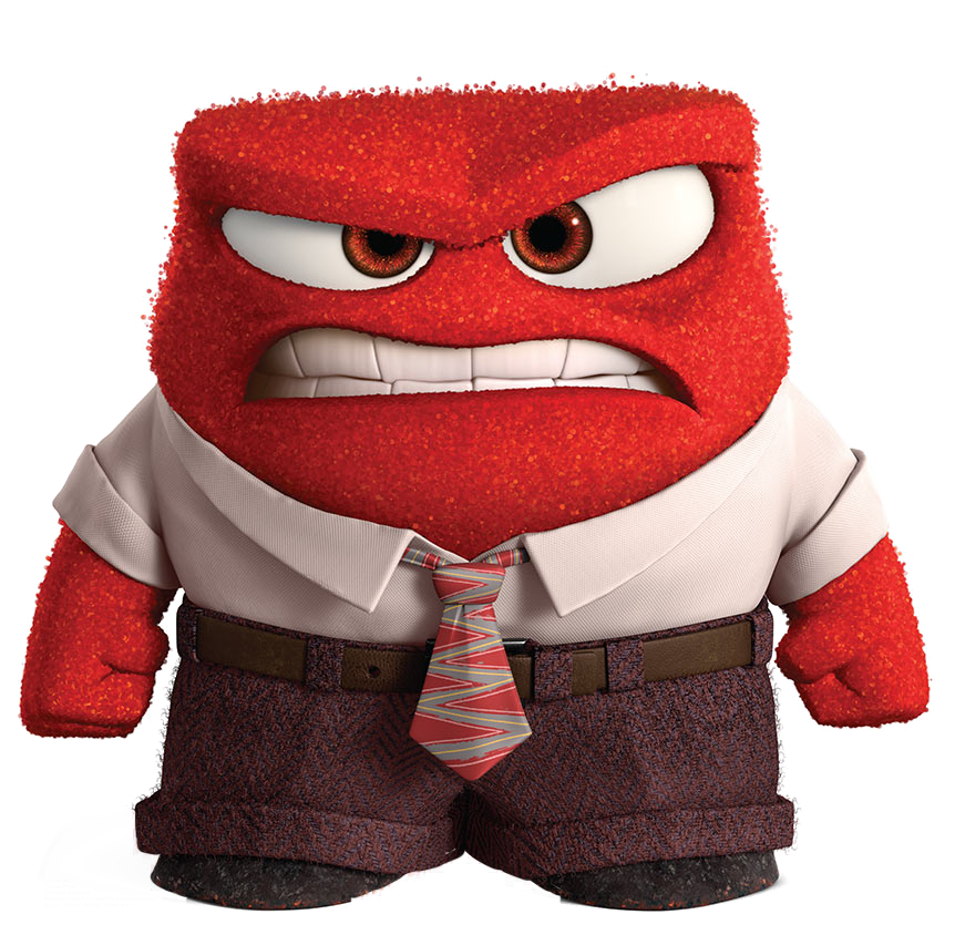 Anger Gallery Disney Inside Out Inside Out Characters Disney Pixar
