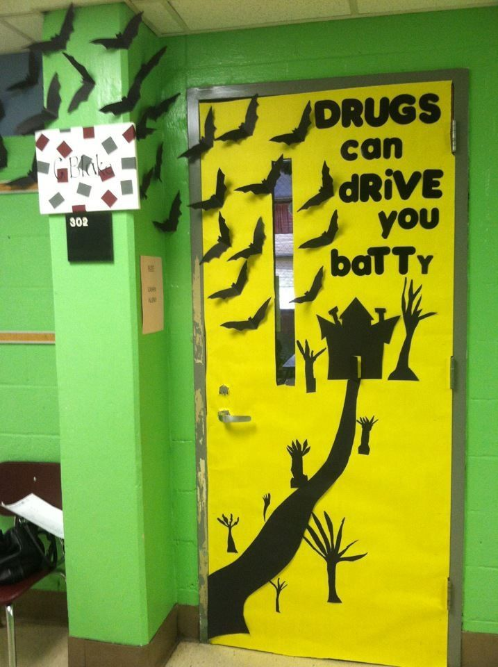 Classroom Decoration Inspiration ~ Red ribbon week door decorating inspiration enter your