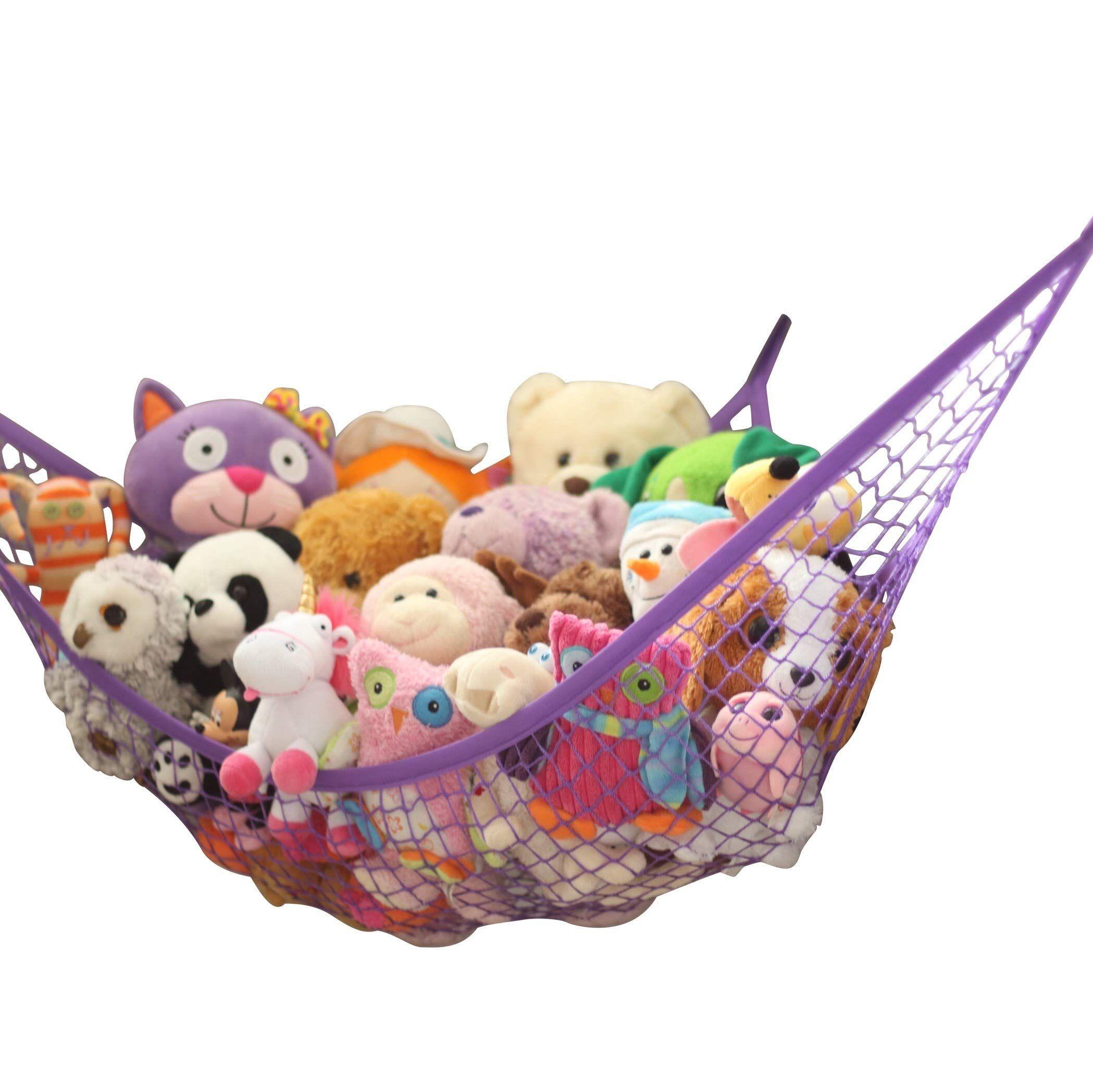 MiniOwls Toy Storage Hammock XLarge Organizer and De