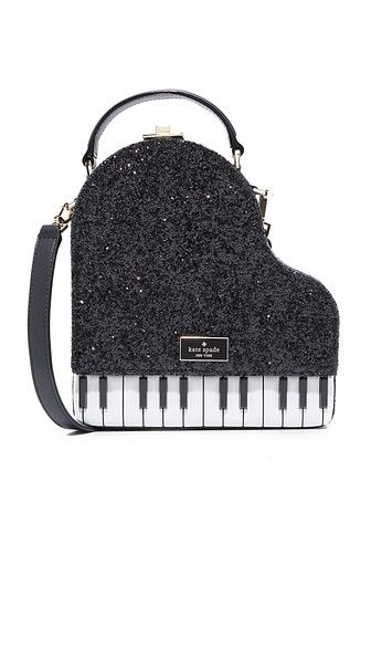 61dfd0ad238e KATE SPADE Piano Bag.  katespade  bags  shoulder bags  hand bags  leather   glitter  . Kate Spade New York ...