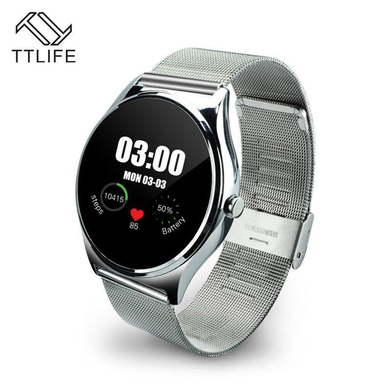 Original TTLIFE Marke Pulsmesser Schrittzähler Wählen Bluetooth Smartwatch Smart Uhr Track Armbanduhr Für Android IOS //Price: $US $49.40 & FREE Shipping //     #meinesmartuhrende